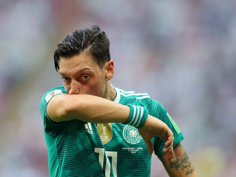 'Germany should have considered leaving out Ozil' - DFB manager Bierhoff criticises Arsenal star
