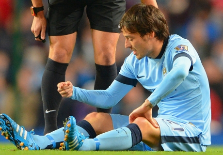Silva out of Bayern clash