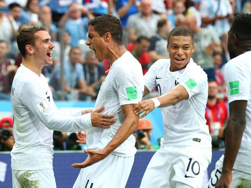 Uruguay 0 France 2: Varane and Griezmann send Les Bleus through