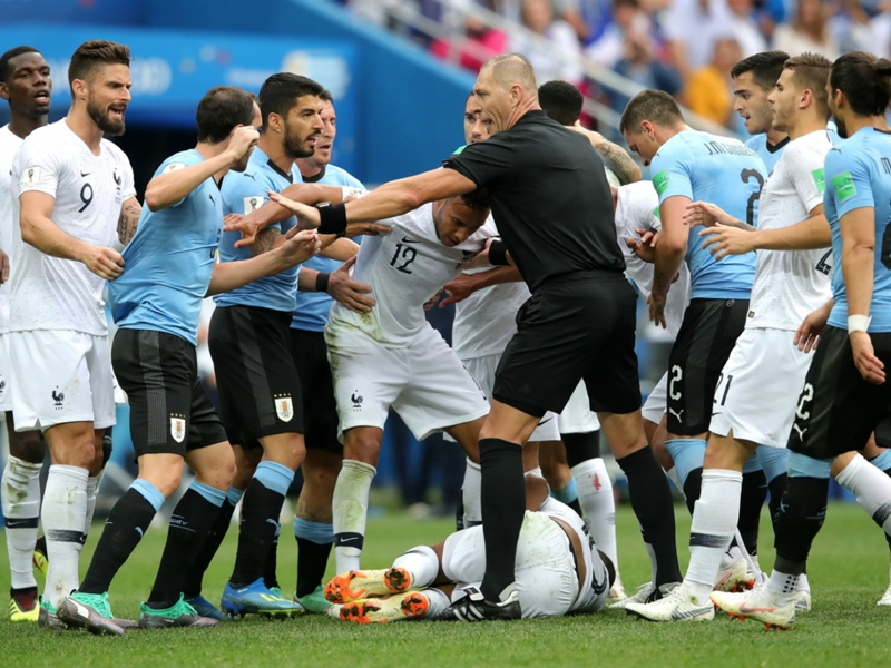 Mbappe warned by Deschamps after quarter-final theatrics for France