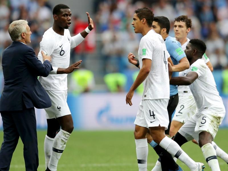 Pogba has Deschamps to thank for avoiding semi-final ban with France
