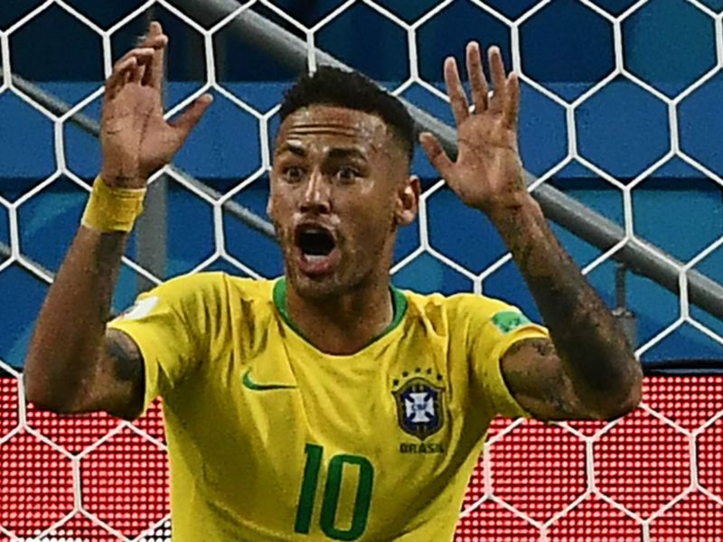 Neymar's theatrics come back to haunt Brazil