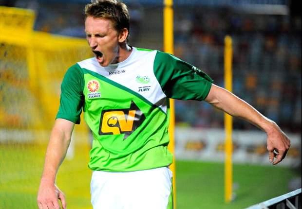 Central Coast Mariners Sign North Queensland Fury's Daniel McBreen
