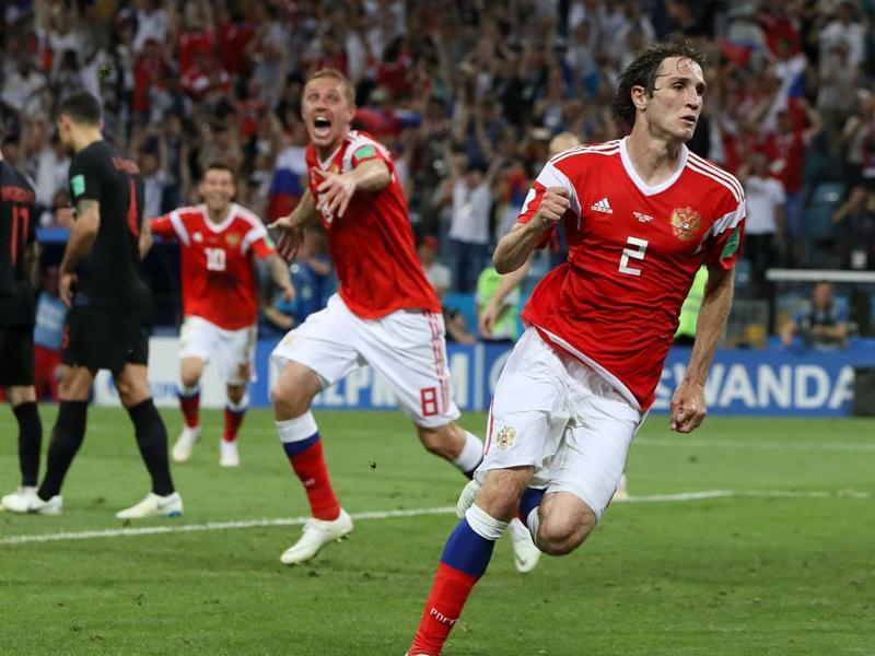 رجل رائع – رجل مخيب - روسيا × كرواتيا