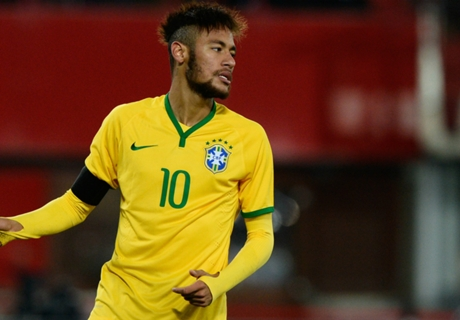 Neymar Heran Terpilih Jadi Kapten Brasil