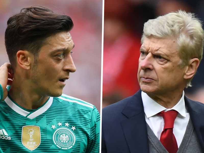 'That's not the real Ozil!' - Wenger reveals why Arsenal star flopped for Germany