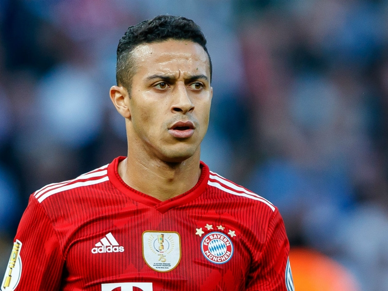Bayern not selling Thiago, says Salihamidzic