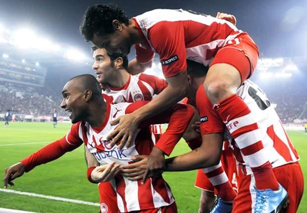 Winst op Arsenal baat Olympiakos niet