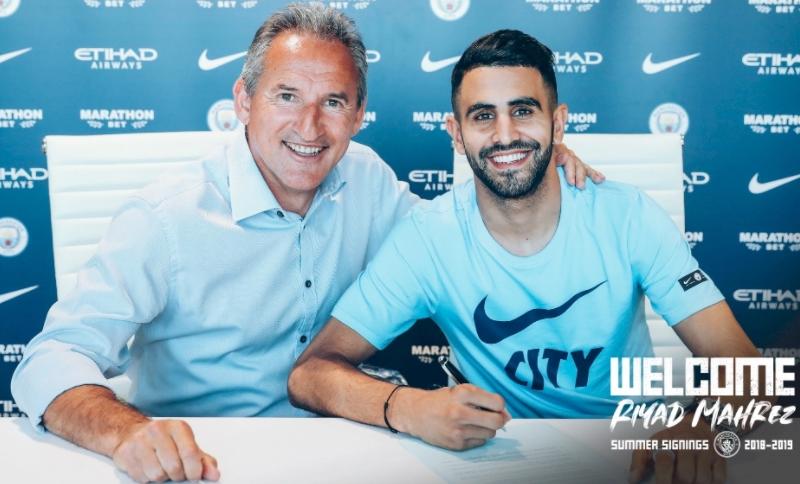 Mercato - Manchester City, Riyad Mahrez justifie son choix