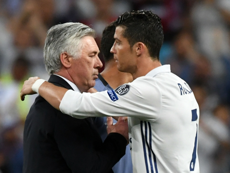 Ancelotti: Ronaldo's Juve move good for all of Serie A