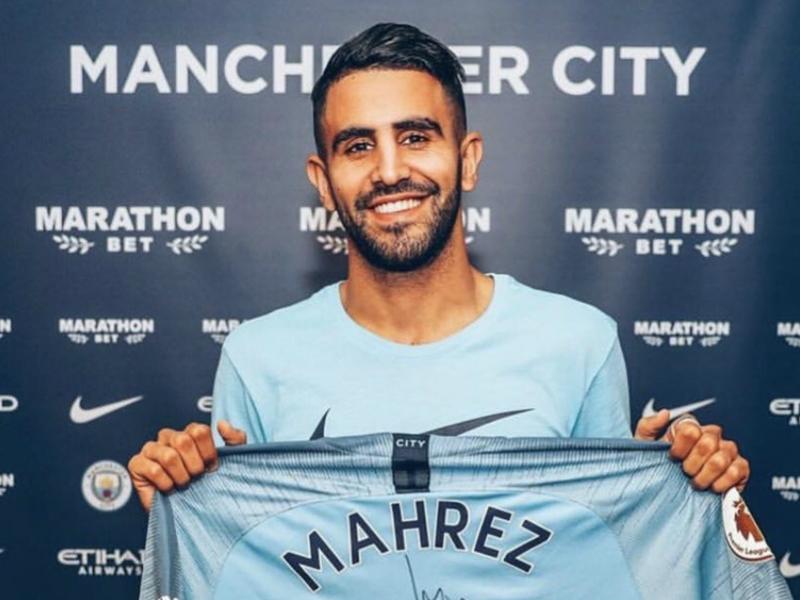 """Manchester City, Riyad Mahrez : """"Je peux aider City à s'améliorer"""""""