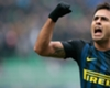Eder celebrates a goal for Inter Milan