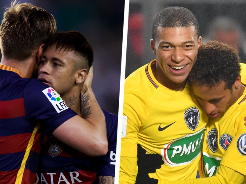 'You are already champions' - Neymar hails Rakitic & Mbappe ahead of World Cup final