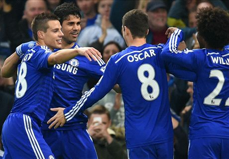 Costa & Hazard give Chelsea win