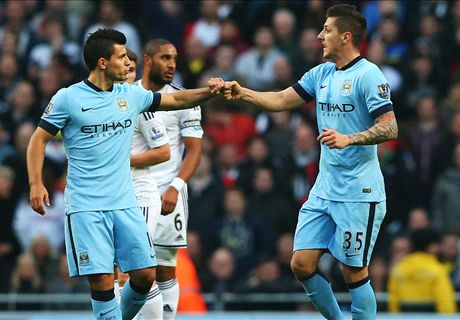 LIVE: Man City 2-1 Swansea