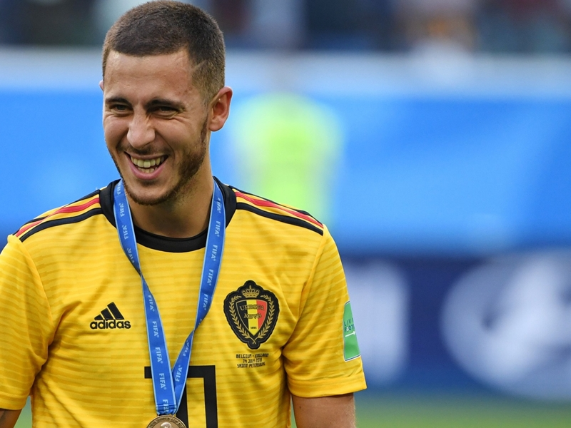 Hazard shines in third-place play-off to remind Chelsea - and Madrid - of his very best