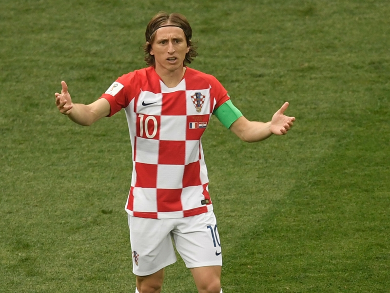 Modric wins World Cup Golden Ball as Mbappe named best young player