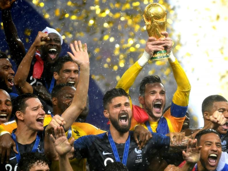 'Congratulations Africa!' - Nigerians celebrate France 2018 World Cup triumph