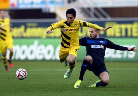 Paderborn 2-2 BVB: Dortmund collapses
