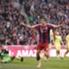 Robert Lewandowski trifft zum 2:0 für die Bayern