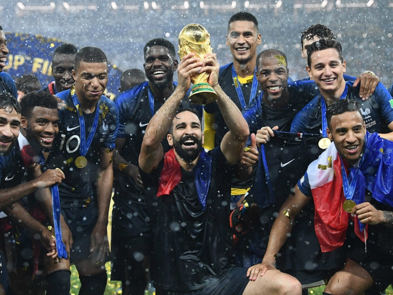 How Adil Rami's moustache became France's bizarre lucky World Cup charm