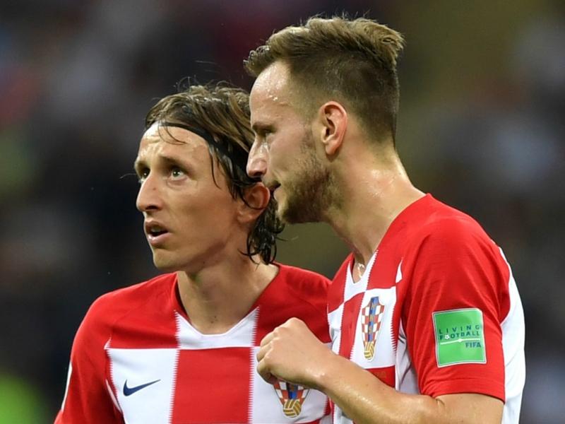 Rakitic hails 'brother' Modric for landing Golden Ball