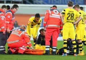 Borussia Dortmund'un genç yıldızı Marco Reus'un bir kez daha sakatlanmasının ardından sakatlıklardan paçasını bir türlü kurtaramayan diğer oyuncuları sıralıyoruz...