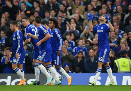 Chelsea 2-0 West Brom: Yacob red