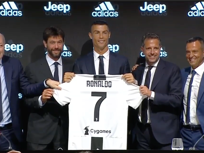 Ronaldo confirms Juventus were only club to make him an offer