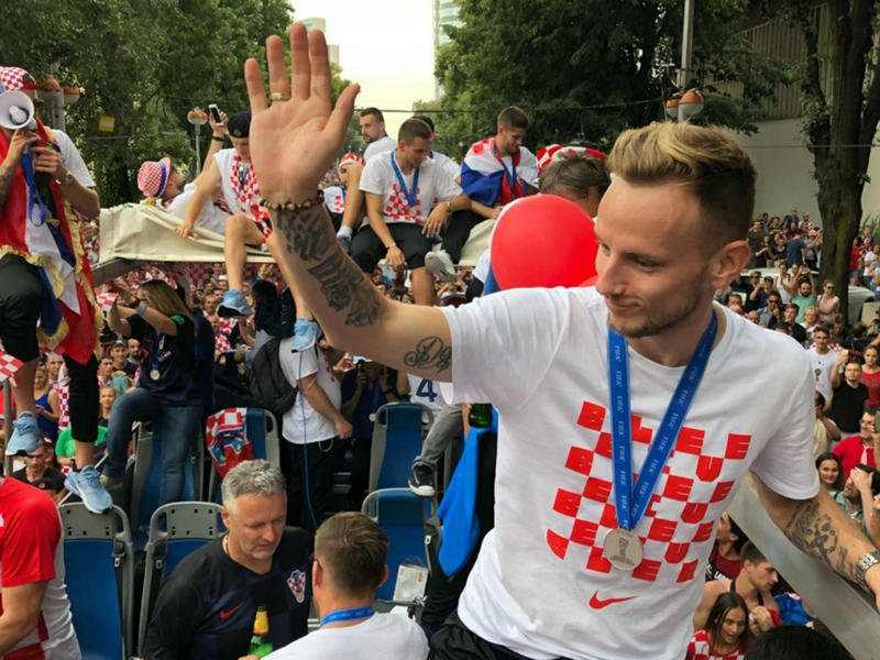Over 10 per cent of Croatia's population welcomes World Cup heroes home