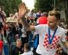 Croatia's Ivan Rakitic in Zagreb