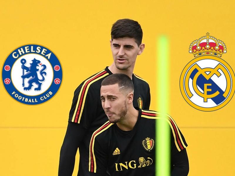 Real Madrid - Une offre de 160 millions d'euros pour Eden Hazard et Thibaut Courtois ?