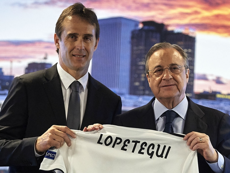 Familiarity with demands of Real Madrid an advantage – Lopetegui