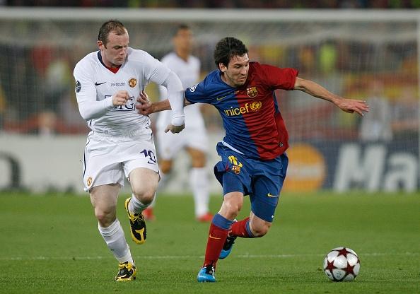 """Wayne Rooney : """"Lionel Messi est selon moi le plus grand joueur de tous les temps"""""""