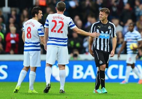 Newcastle 1-0 QPR: Five in a row