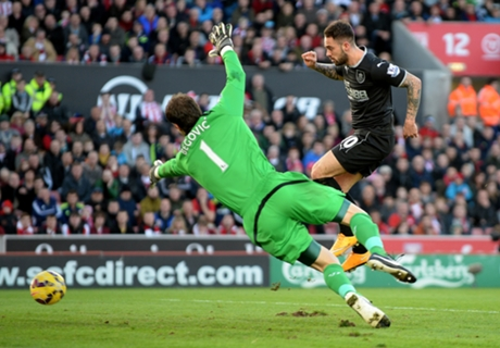 Stoke City 1-2 Burnley: Ings brace