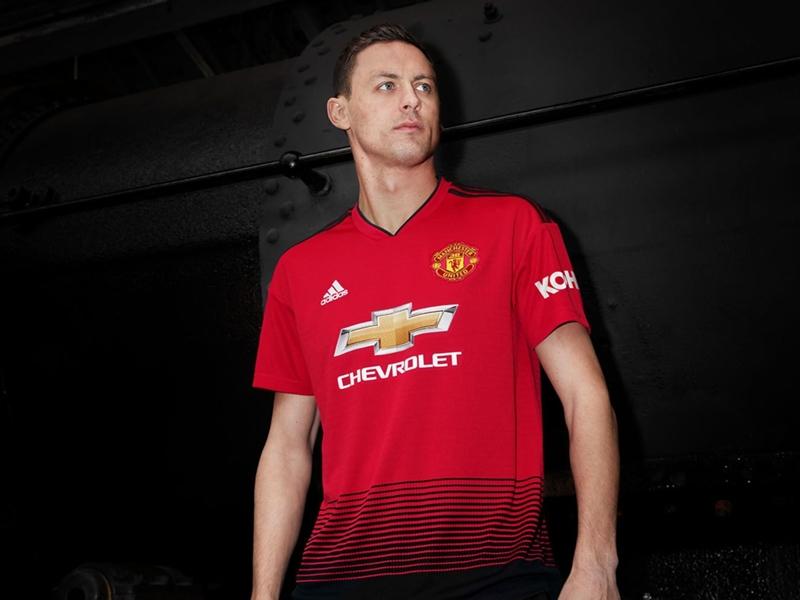 Manchester United dévoile son nouveau maillot domicile pour la saison 2018-2019