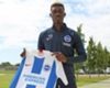 New Brighton and Hove Albion signing Yves Bissouma.