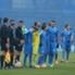 Los jugadores de Dinamo Zagreb esperaban a los rivales