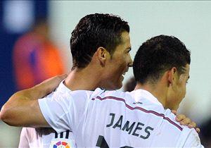 Cristiano Ronaldo y James, los goleadores en Ipurúa