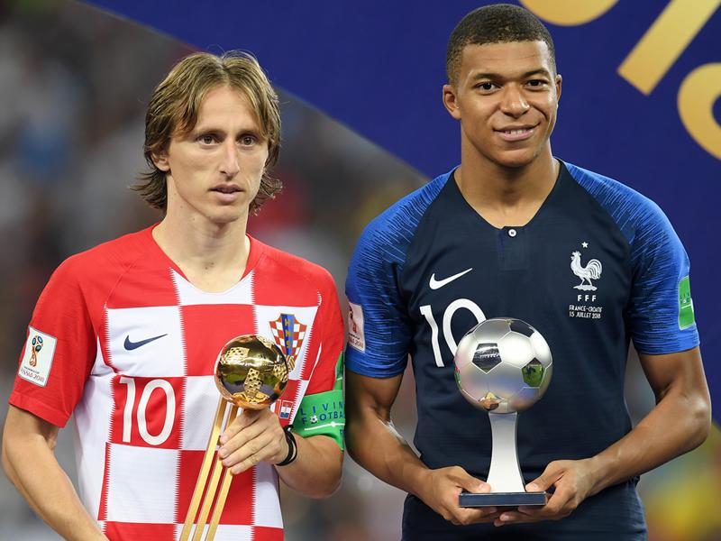 """Real Madrid, Luka Modric : """"A cet âge, Mbappé est encore plus fort que Messi et Ronaldo ne l'étaient"""""""