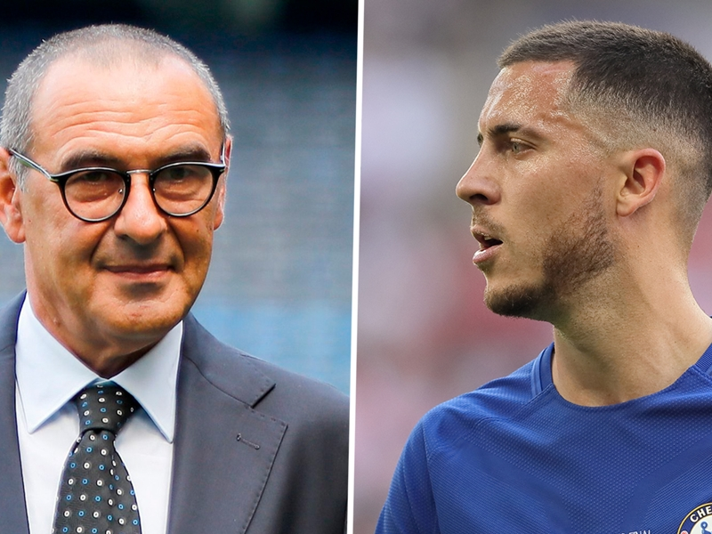 Sarri livre son avis sur le dossier Hazard-Real Madrid