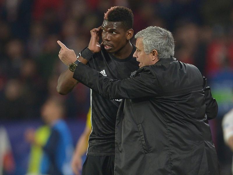 """Manchester United, Mourinho : """"J'espère que Pogba a compris"""""""