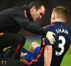 Luke Shaw out for 'a few weeks'