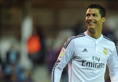 Cristiano Ronaldo golea a todos