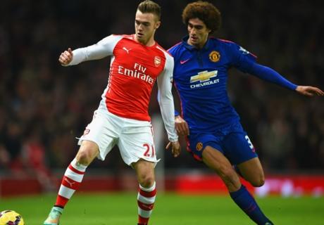 Résumé de match, Arsenal-Manchester United (1-2)