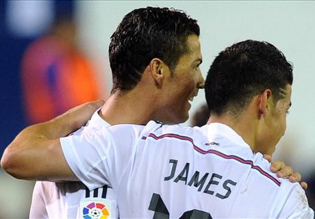 Player Ratings: Eibar 0-4 Real Madrid