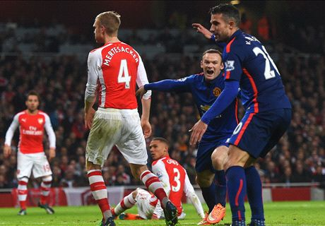 Spelersrapport: Arsenal - Man Utd