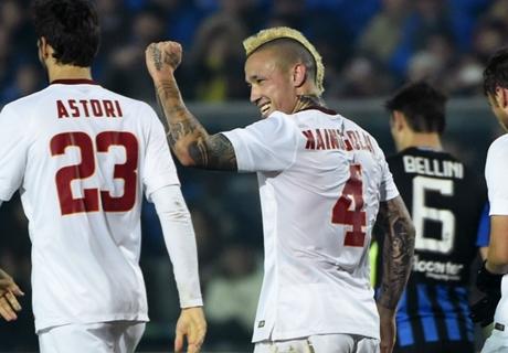 FT: Atalanta 1-2 AS Roma