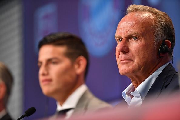 Mercato - Le président du Bayern Munich ferme la porte au Real Madrid pour James Rodriguez